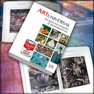 "Ramón Rivas, en el Proyecto ""Art Universal - The Great Encyclopedia of International Art"""