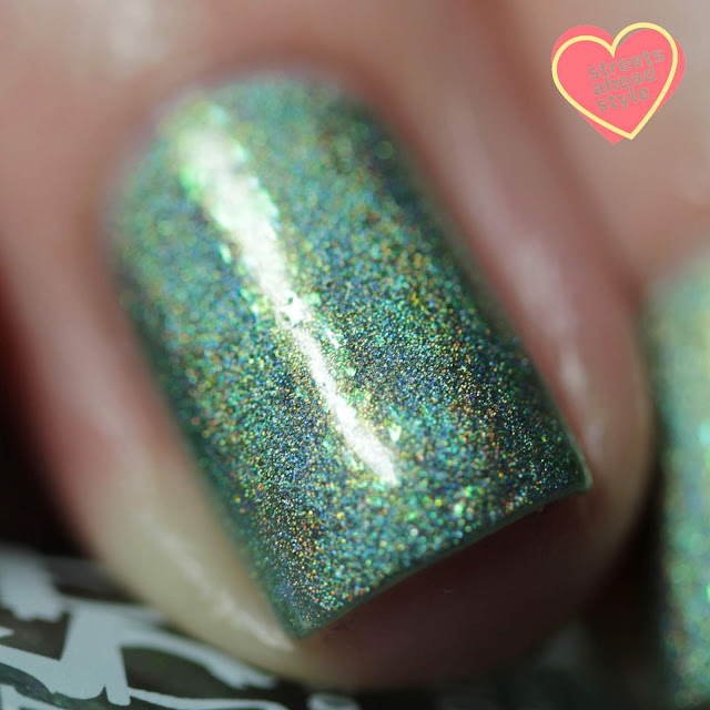 Girly Bits Things Get Better With Sage swatch by Streets Ahead Style