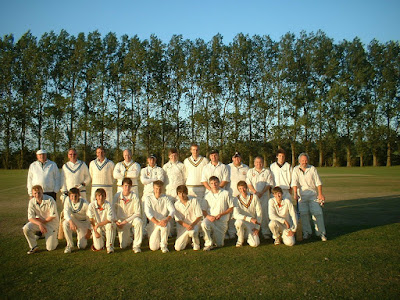 Players who took part in the 2009 Youth v Experience school reunion cricket match at Brigg Recreation Ground back in 2009