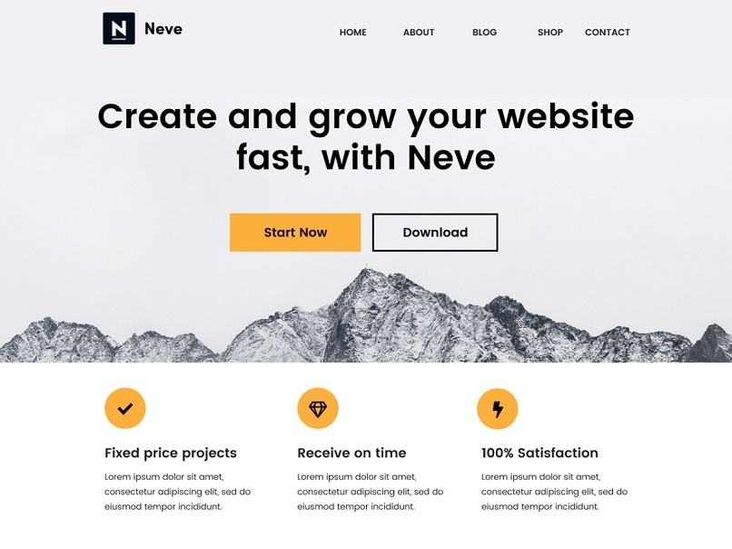 neve theme for affiliate marketing