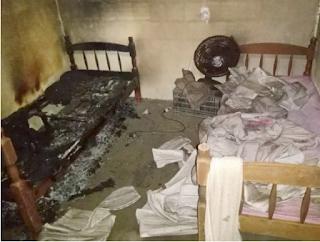 Irmãs de 6 e 5 anos morrem abraçadas após casa pegar fogo