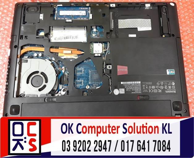 [SOLVED] FORMAT & INSTALL SSD LENOVO G40-45 | REPAIR LAPTOP CHERAS 1