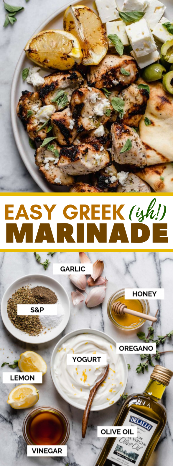 Greek Marinade #healthy #grilling