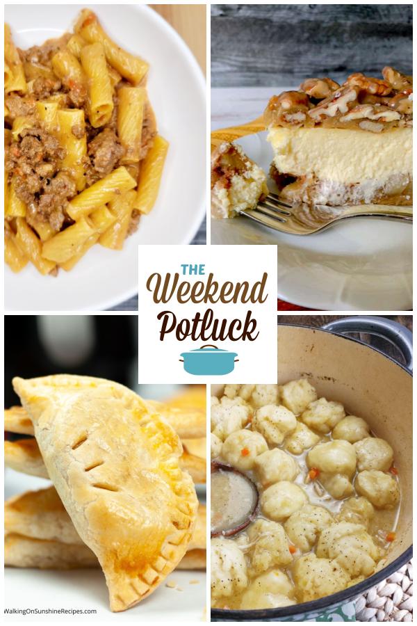 A virtual recipe swap with Creamy Cheesy Beefy Pasta, Apple Bottom Bourbon Pecan Cheesecake, Air Fryer Hand Pies, Homemade Chicken & Dumplings and dozens more!