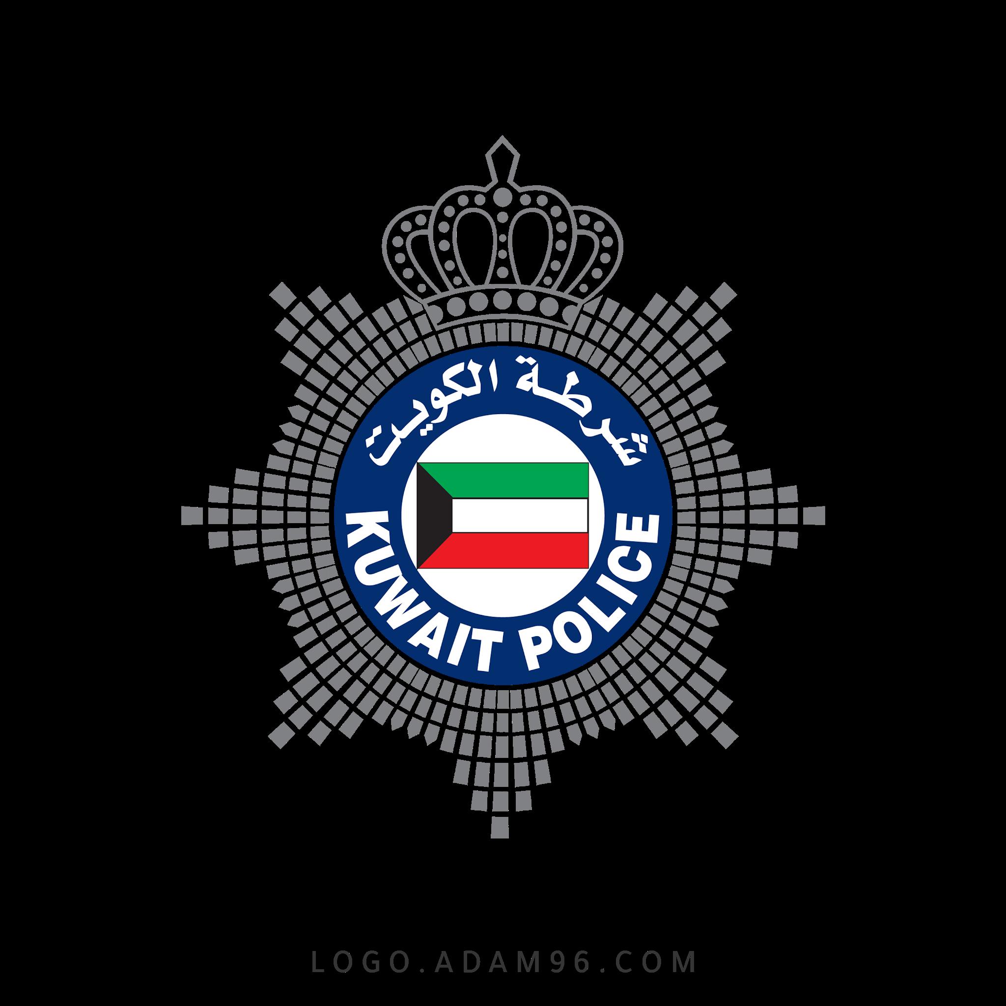 تحميل لوجو الرسمي شرطة الكويت عالي جودة بصيغة PNG - لوجو الكويت