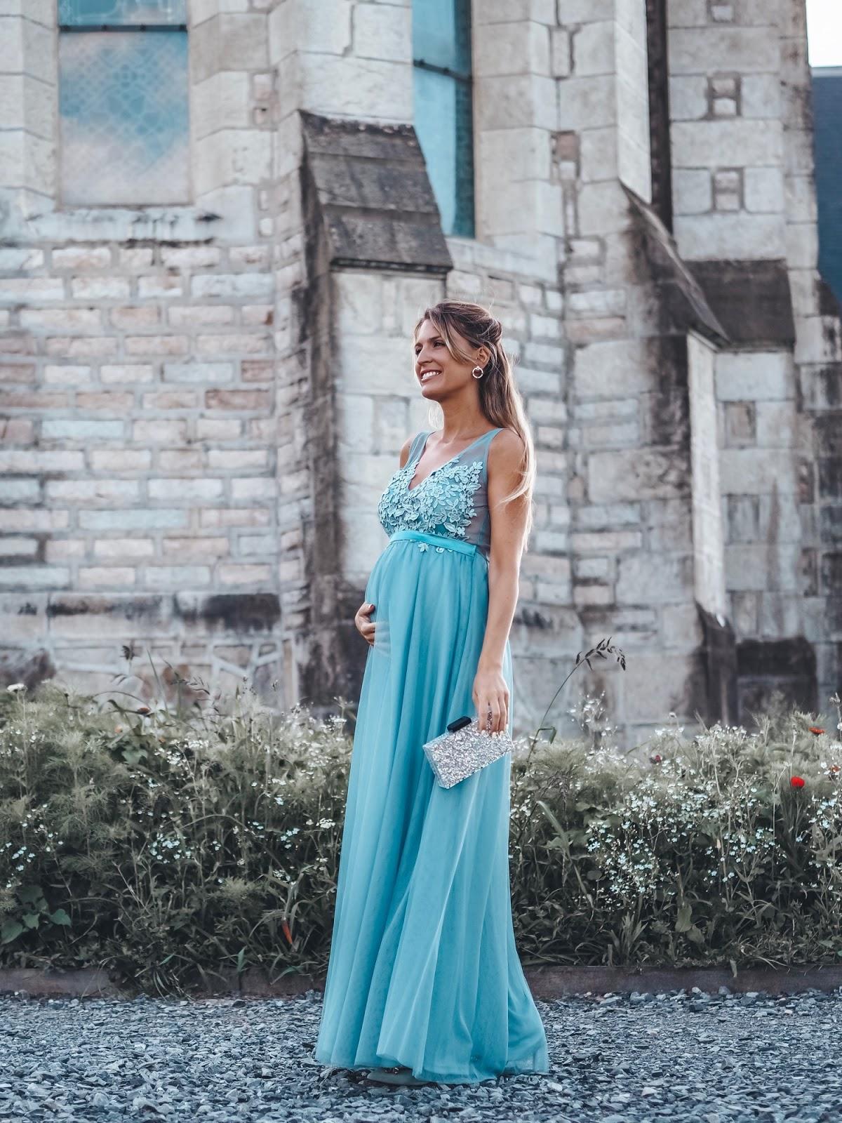 los mejores looks invitada embarazada