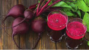 how make red color naturally in home