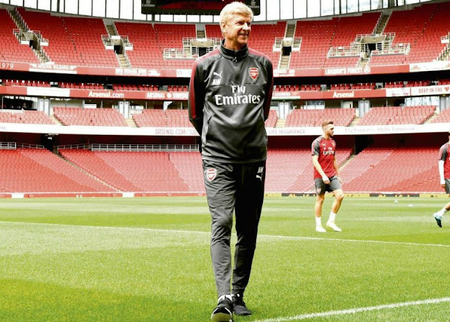 arsene wenger Arsene Wenger is leaving Arsenal at the end of the season