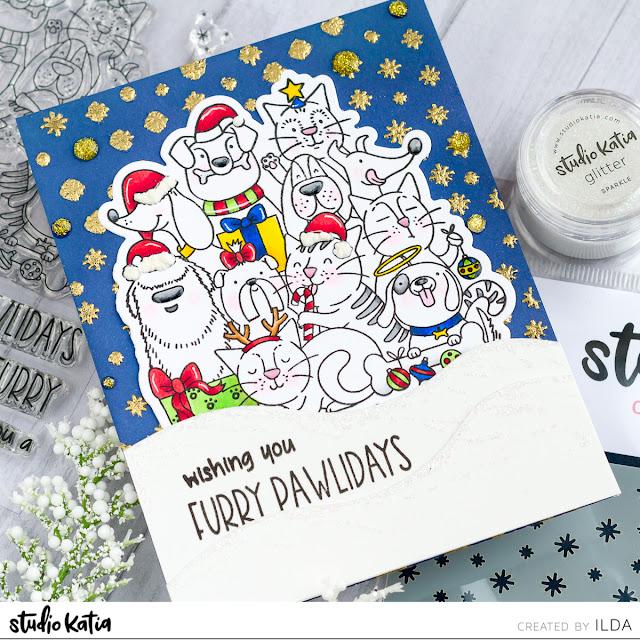 Studio Katia Winter 2019 Release - Sneak Peek Day 2 by ilovedoingallthingscrafty.com