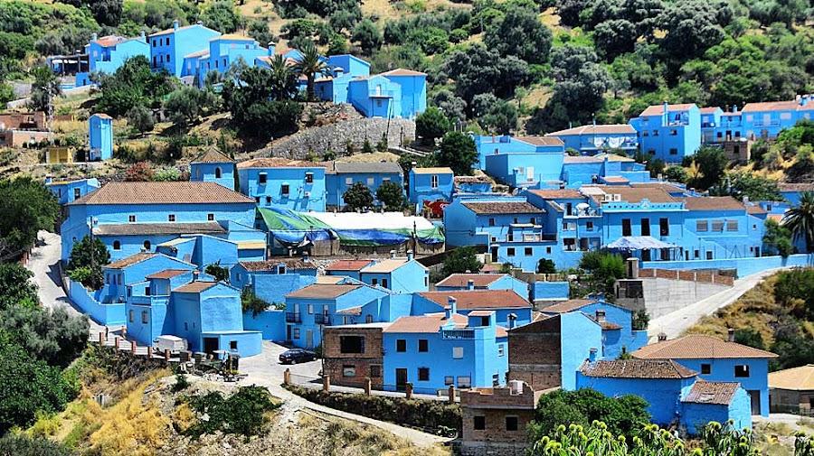 Juzcar, el pueblo de los Pitufos en la serranía de Ronda