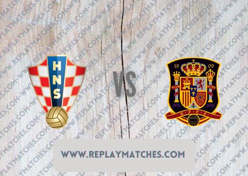 Croatia vs Spain -Highlights 28 June 2021