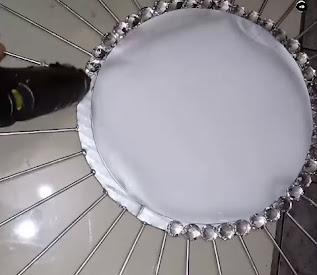 صناعة ديكور مرآة  الخرزات - DIY CRAFT
