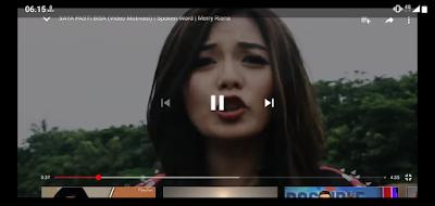 Tombol Virtual di aplikasi YouTube