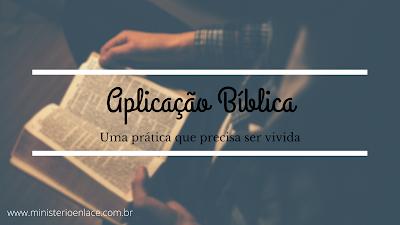 aplicação bíblica