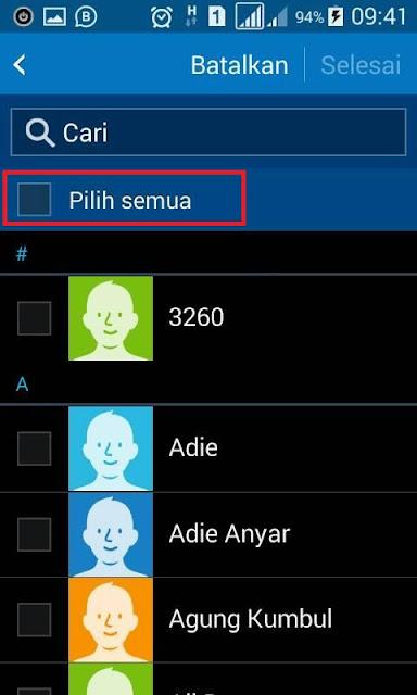 Cara Backup Kontak Nomor HP Android Paling Mudah