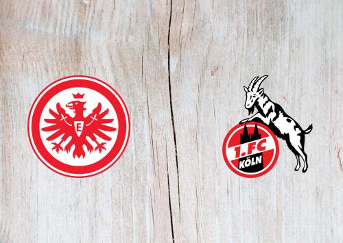 Eintracht Frankfurt vs Köln -Highlights 18 December 2019
