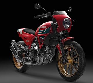 Ducati Scrambler Mike Hailwood Edition