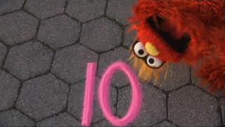 Murray Sesame Street sponsors number 10, Sesame Street Episode 4316 Finishing the Splat season 43