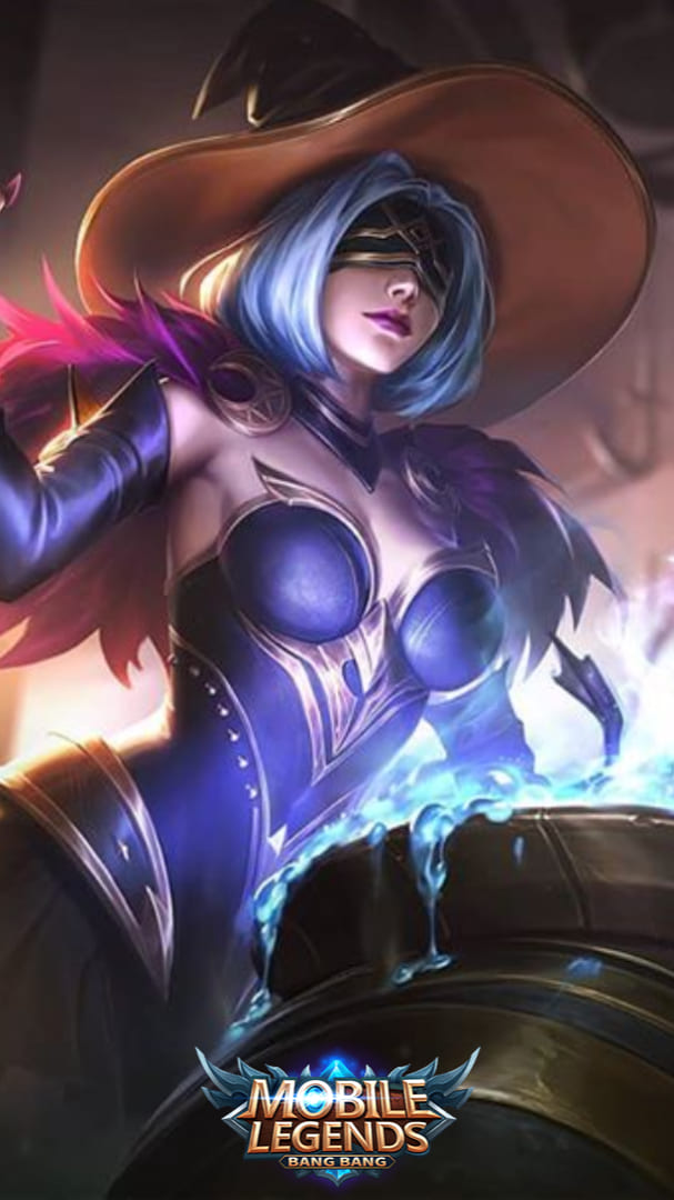 Wallpaper Pharsa Enchanting Witch Skin Mobile Legends HD for Android and iOS