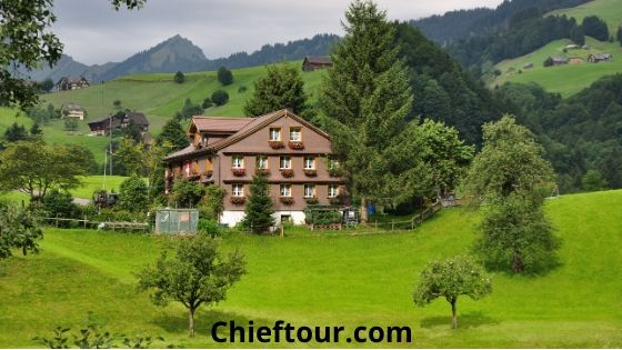 St. Gallen, beautiful places in Switzerland: