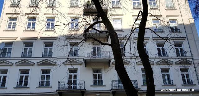 Warszawa Warsaw warszawskie kamienice ulica Piękna Karol Kozłowski architektura