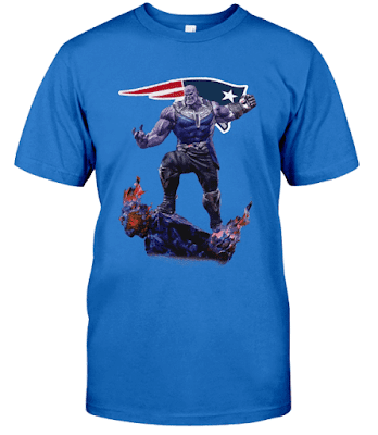 New England Patriots Thanos Infinity War T Shirt