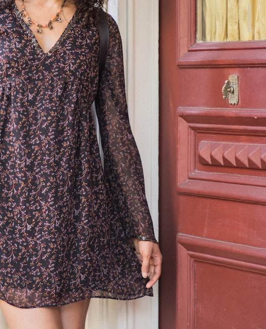 Pretty boho chic dress