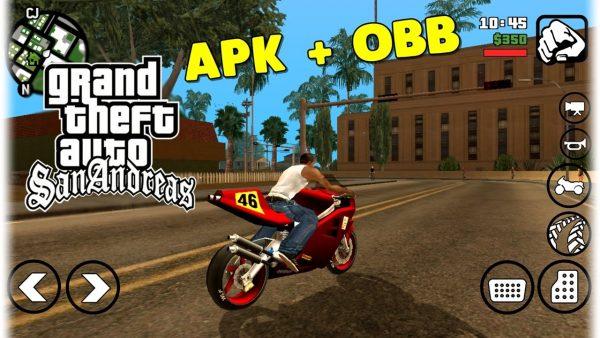 Download GTA San Andreas APK + OBB