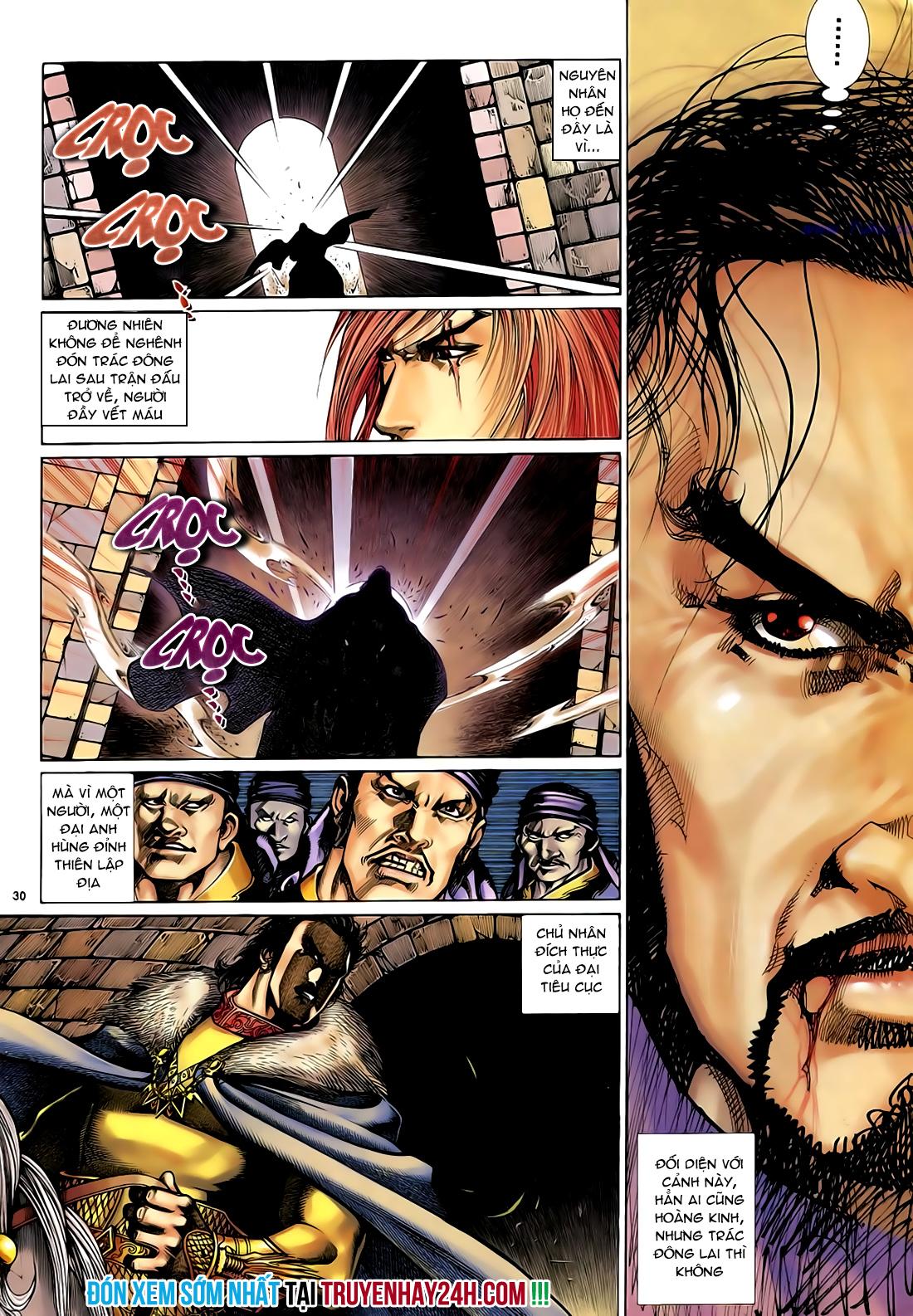 Anh hùng vô lệ Chap 29 trang 31
