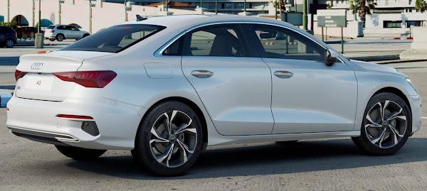 Novo Audi A3 Sedã 2022: estimativa de preços para o Brasil