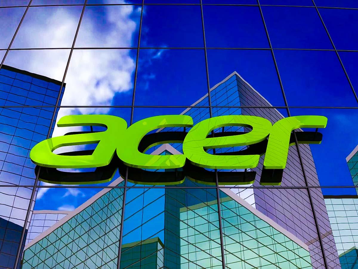 Acer anuncia receita consolidada de US$ 3 bi para o quarto trimestre de 2020, e fecha dezembro em US$ 1 bi