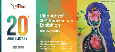 Source: Little Artists Art Studio. Poster for The LAUREATES Exhibition.