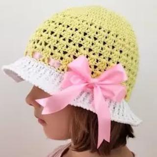 Sombrero Verano a Crochet