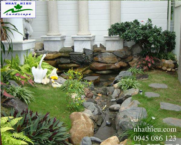 Thiết kế sân vườn nhỏ xinh xắn phong thủy