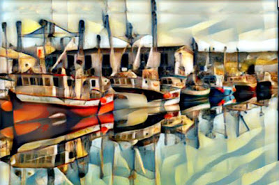 Boats in Row