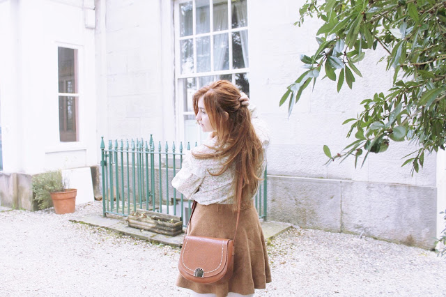 Cute modern vintage Victorian outfit