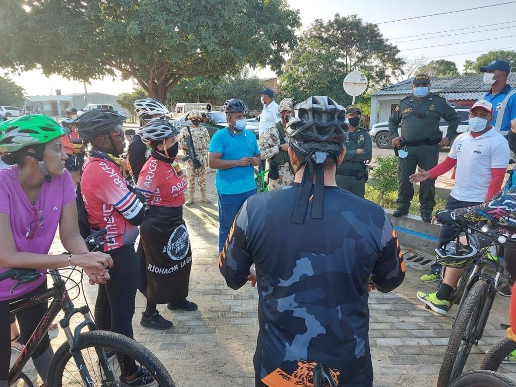 https://www.notasrosas.com/'Rutas Seguras' para ciclistas, se inician en Riohacha