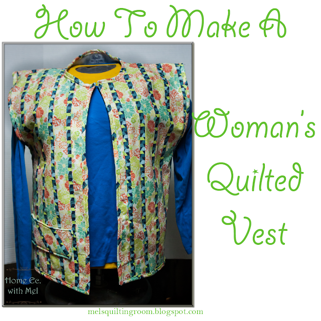 quilted woman's vest