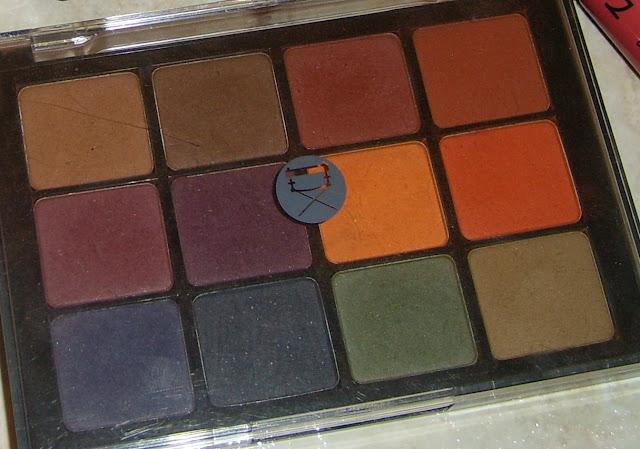 Viseart Dark Matte Palette review