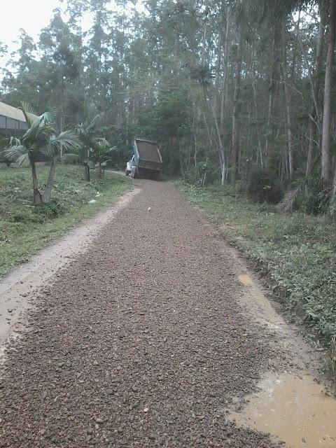 Prefeitura de Eldorado trabalha forte para garantir a manutenção das estradas rurais do município