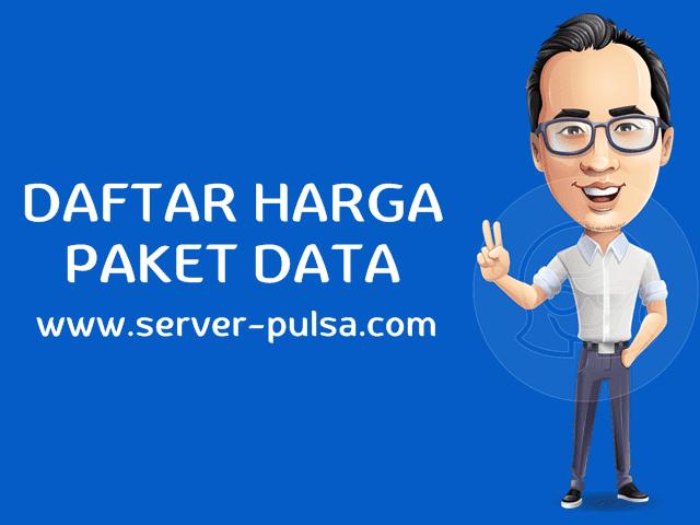 Daftar Harga Paket Internet Kuota Data Murah Server-Pulsa.com