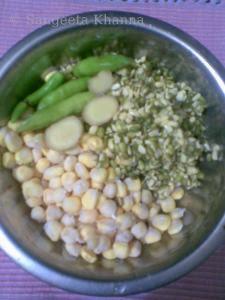 corn-mung cutlets