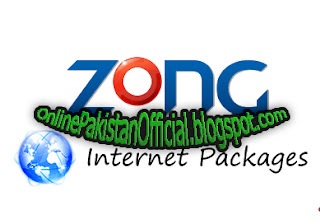 zong 3g  packages and zong 4g Internet packages