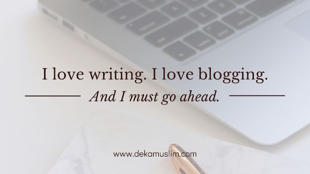 i love writing i love blogging