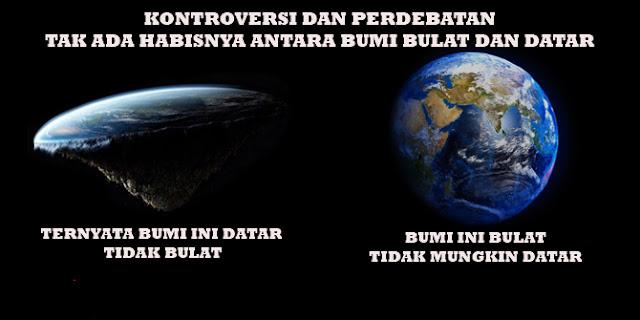 bumi bulat atau datar