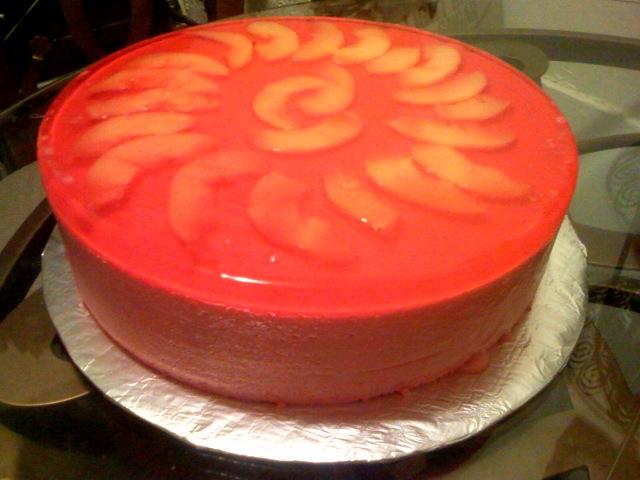Rustik Cake Studio Peruvian Quot Torta Helada Quot Jello Cake