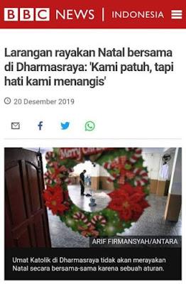 Indonesia Negeri Intoleran