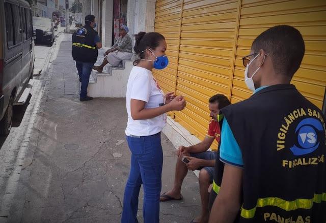 Decreto da Prefeitura e informações de prevenção ao contágio por coronavírus
