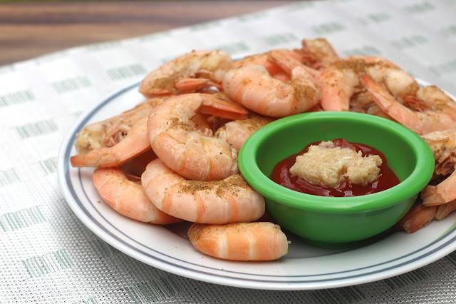 Eat Peel Shrimp Served Up on Livliga