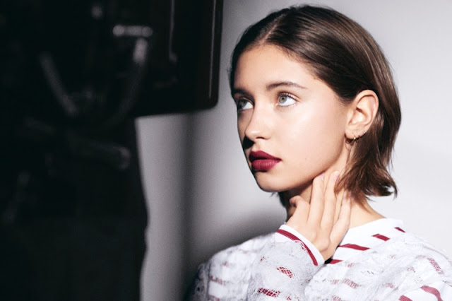 Iris Law, Jude Law's Daughter, Stars in Burberry Beauty Campaign